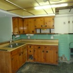 Kitchen prior to renovations