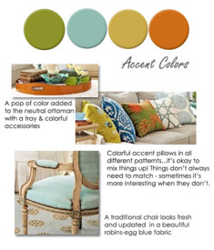 accent colors