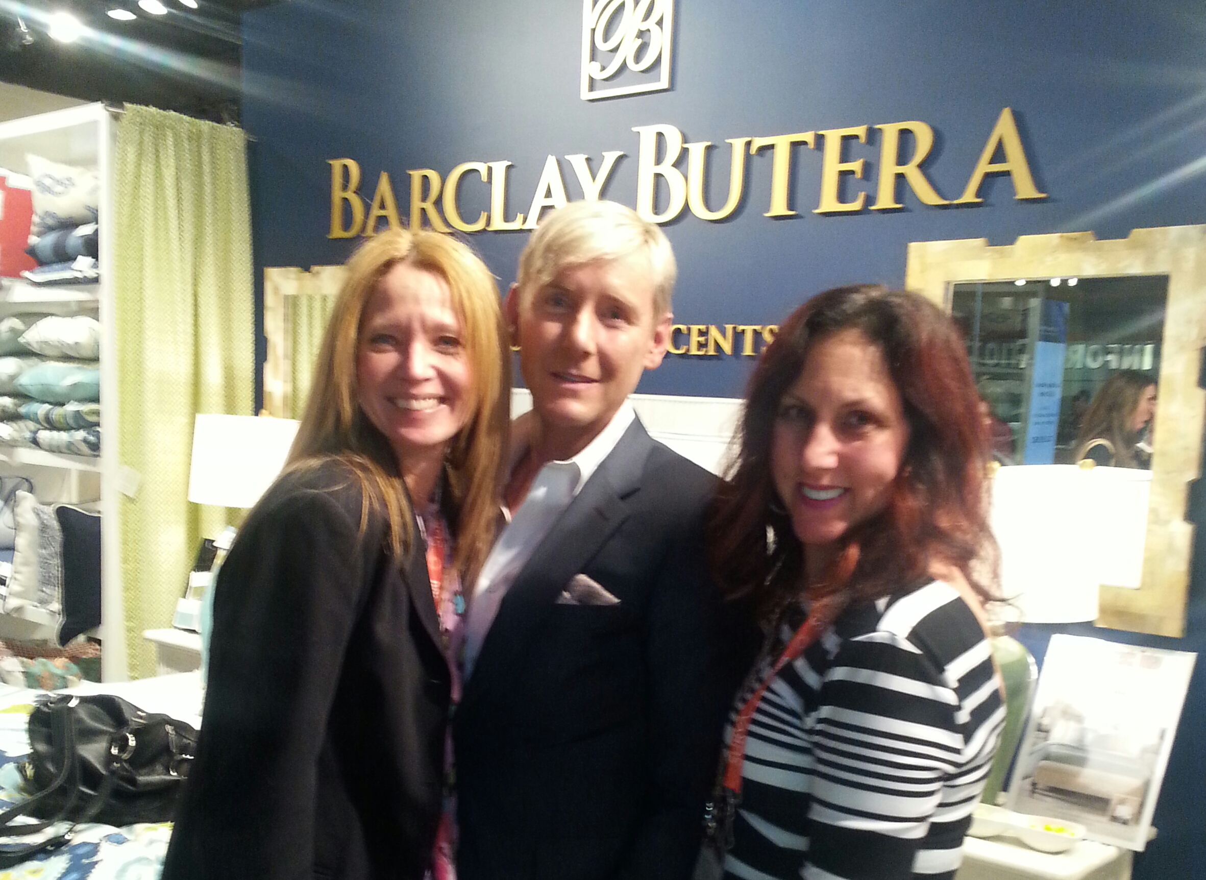Designer Barclay Butera and Design Remix Gals!