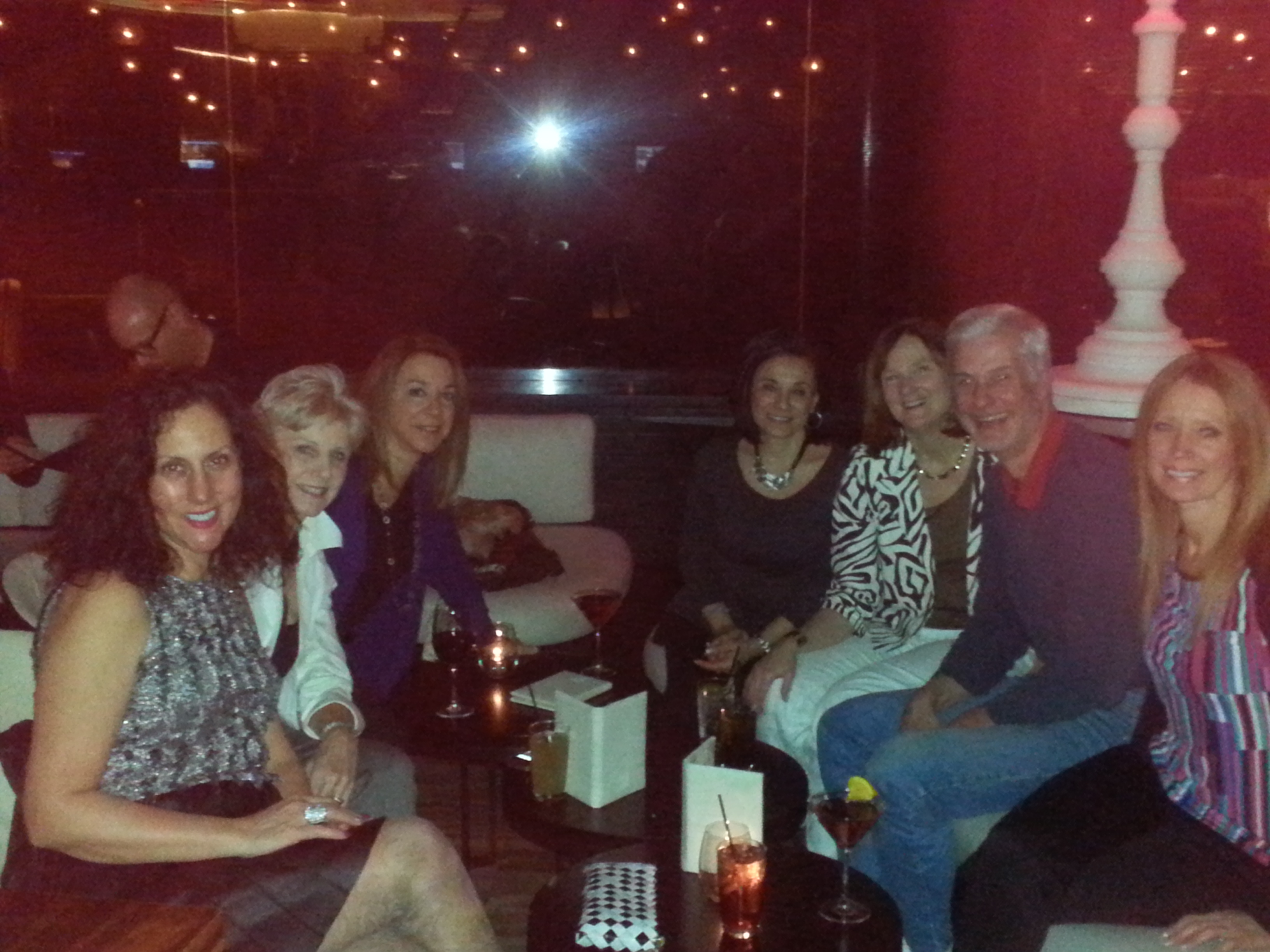 Night out at The Cosmopolitan Hotel & Casino with our fellow stagers!