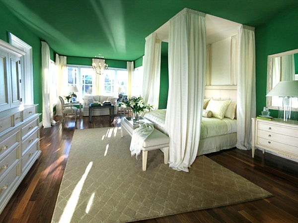 green-bedroom